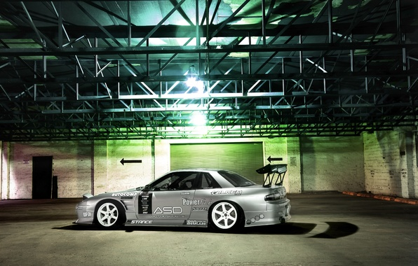 Picture Machine, Silvia, Nissan, grey, Nissan, Tuning, JDM, 180sx