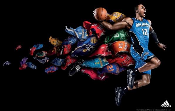Picture Adidas, Jazz, Lakers, Rockets, Orlando, Bulls, Nuggets