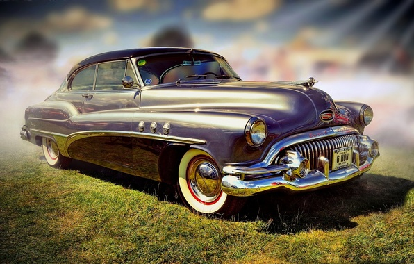 Picture retro, Buick, car, classic, the front, Buick