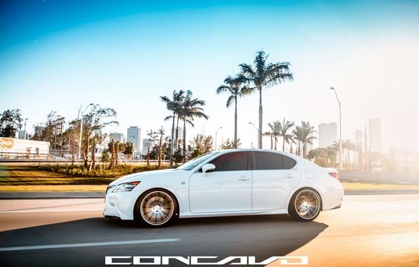 Picture machine, auto, Lexus, auto, side, F-Sport, Wheels, Concave, GS350