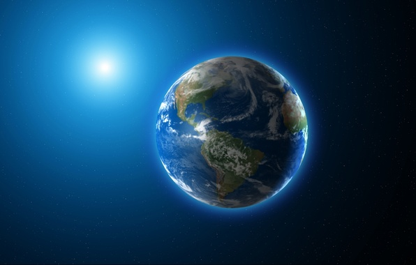 Picture light, Earth, planet, shadows