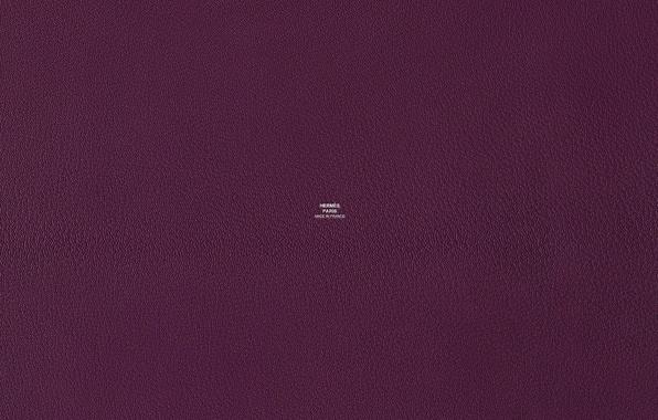 Picture purple, color, texture, leather, Hermes