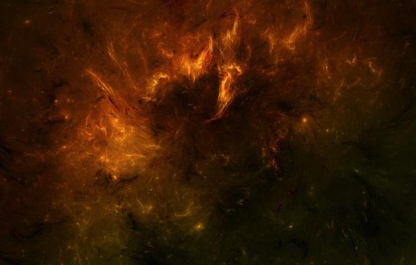 Picture space, stars, nebula, burning, nebula