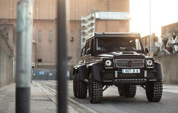 Picture Mercedes-Benz, Brabus, Gelandewagen, G63 AMG, 6X6, Tuning by