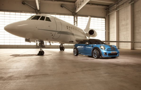 Picture auto, machine, auto, mini, aircraft, minicooper