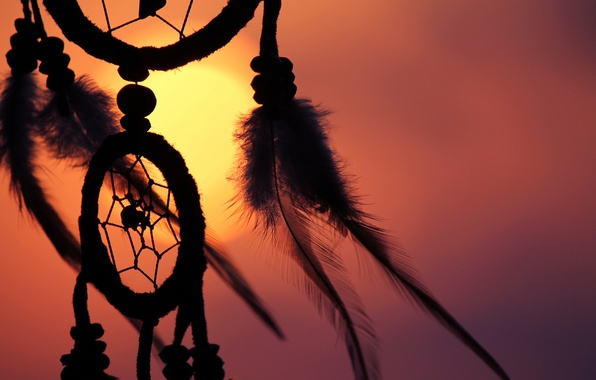 Dream Catcher In The Sun Wallpaper feathers the sun amulet Dreamcatcher Dreamcatcher 10