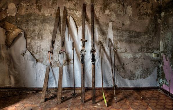 Picture sport, ski, stick