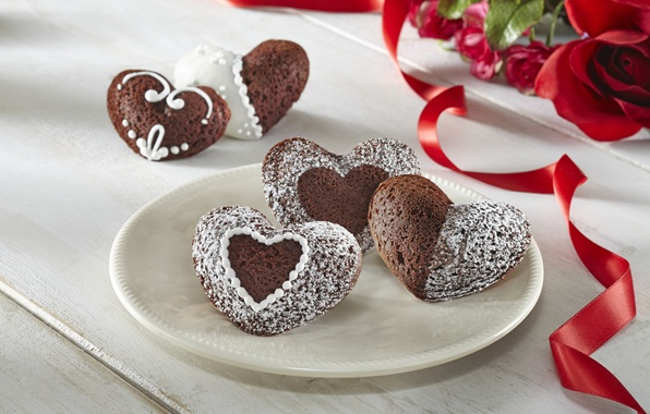 Picture love, flowers, holiday, heart, food, roses, bouquet, cookies, love, cake, i love you, heart, food, …