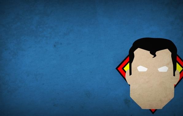 Picture figure, minimalism, hero, superman, minimalism, 1920x1080, hero, picture