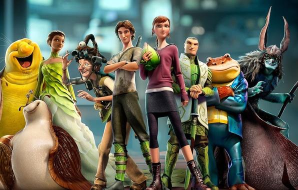 Picture people, cartoon, characters, disney, Epic, Epic, slug