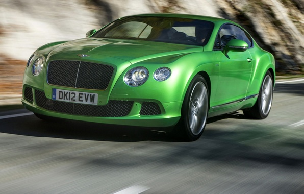 Picture road, coupe, Bentley