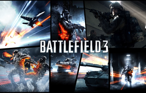 Picture game, games, art, Battlefield 3, gta style
