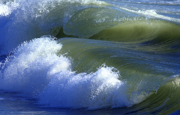 Picture sea, squirt, the ocean, wave, surf