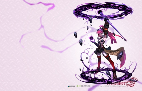 Picture Girl, Stones, Energy, Magic, Gloves, Dress, Clothing, The inscription, Stockings, Power, MMORPG, Shoes, Force User, …