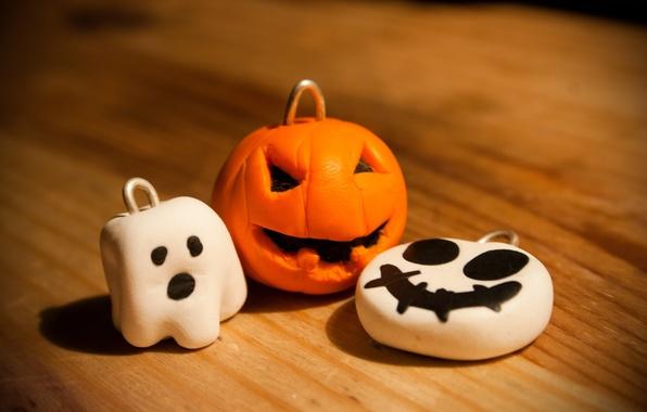 Picture holiday, pumpkin, Halloween, halloween, Ghost, keychains