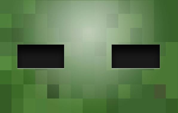 Picture line, color, zombie, square, minecraft, rectangle