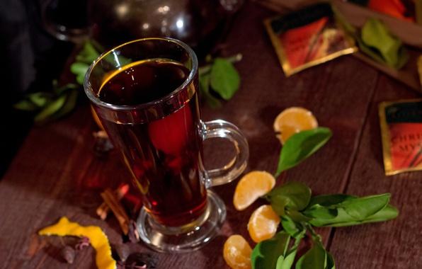 Picture tea, Breakfast, the tea party, mug, mandrin