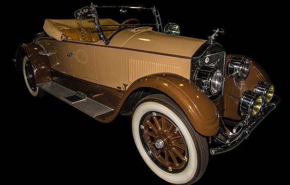 Picture retro, convertible, car, Pierce-Arrow