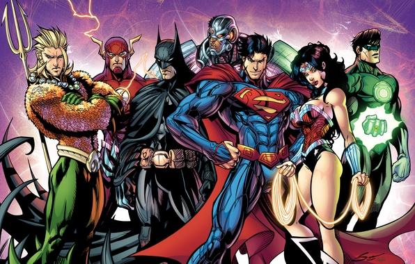 Picture batman, superman, dark knight, green lantern, wonder woman, cyborg, the flash, Justice League, bruce wayne, …