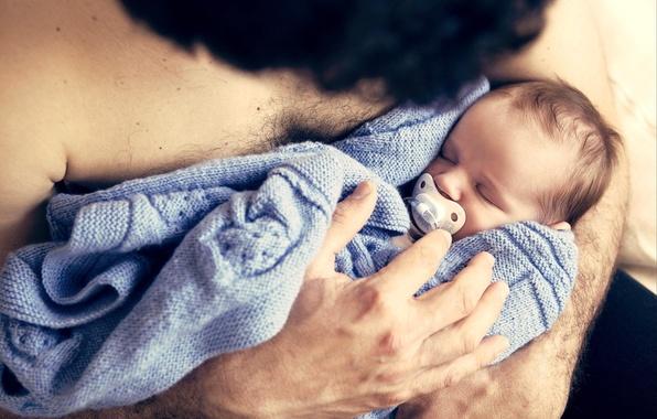 Picture child, sleep, hands, baby, sleeping, male, guy, nipple, child, baby