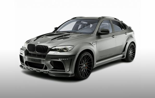 Picture BMW, BMW, black background, Hamann, X6 M, E71