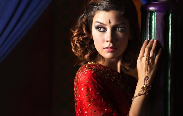 Photo wallpaper decoration, portrait, makeup, Ivan Lee, The Beauty of Arabian