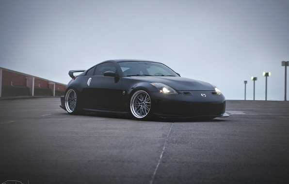 Picture Nissan, Nissan, 350z, Tuning, nismo, Stance