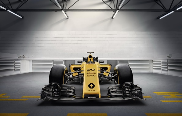 Picture Renault, formula 1, the car, Formula 1, Reno, RS16