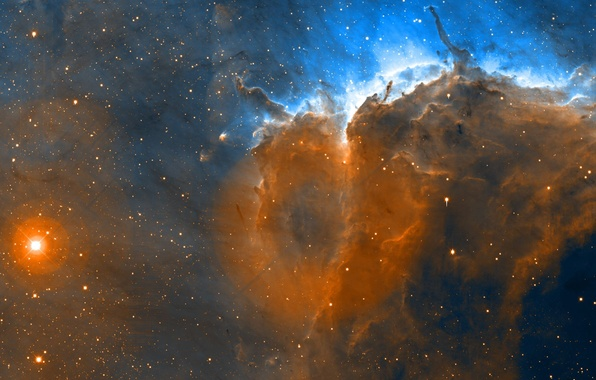 Picture Stars, The Pelican Nebula, Space