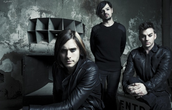 Picture Jared Leto, 30 Seconds to Mars, Tomo Milicevic, Shannon Leto