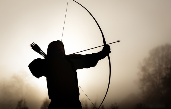 Photo Wallpaper Background Bow Arrows Archer