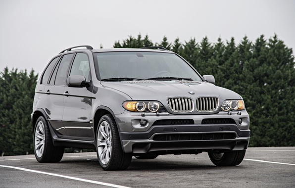 Photo wallpaper BMW, BMW, crossover, E53