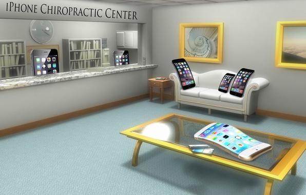 Picture iPhone, humor, Center, Chiropractic