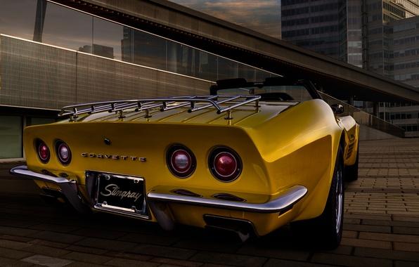 Picture 1969, corvette, classic, chevrolet, Corvette, Chevrolet