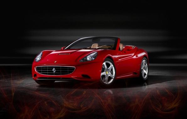 Picture red, california2, ferrari, car