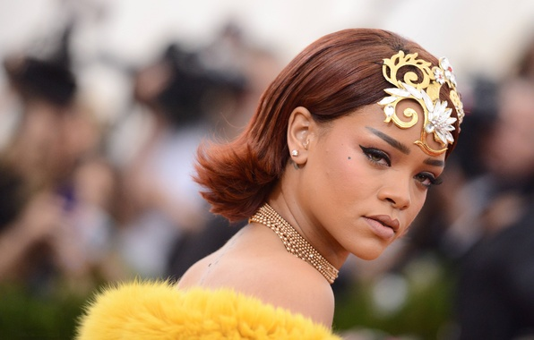 Picture girl, star, beauty, singer, rihanna, the event