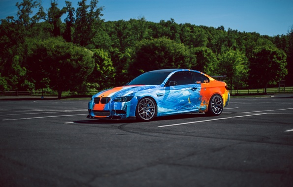 Picture car, BMW, tuning, E92