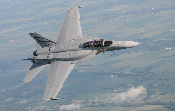 Picture fighter, attack, the plane, Stealth, combat, Super Hornet, F-18, American, Aviation, Silent Hornet, Advanced