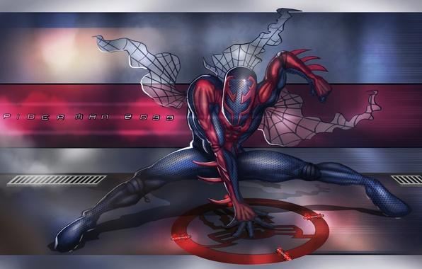 Cool Spiderman 2099 Wallpaper: Wallpaper Costume, Marvel Comics, Spider-Man, Spider-Man