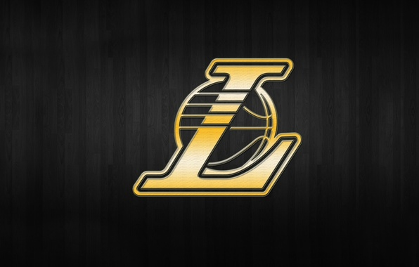 Picture Background, Logo, Gold, Los Angeles, NBA, Lakers