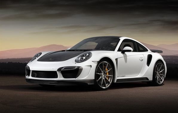 Picture background, tuning, 911, Porsche, GTR, Porsche, tuning, the front, Turbo, Ball Wed, Turbo, Stinger
