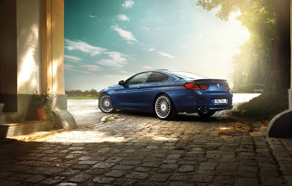Picture tuning, BMW, BMW, rechange, 6 series, Alpina