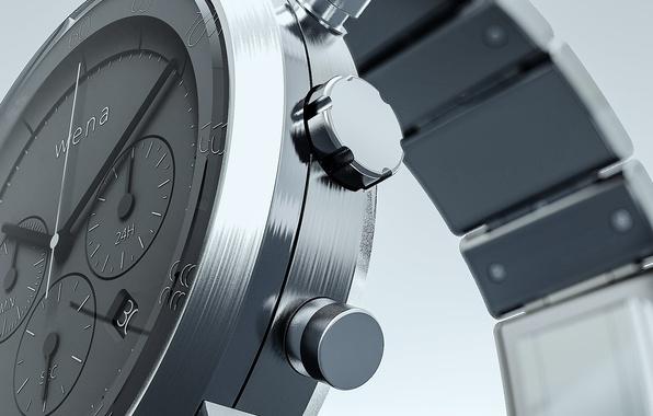 Picture sony, hi tech, smart watch, Wena Wrist