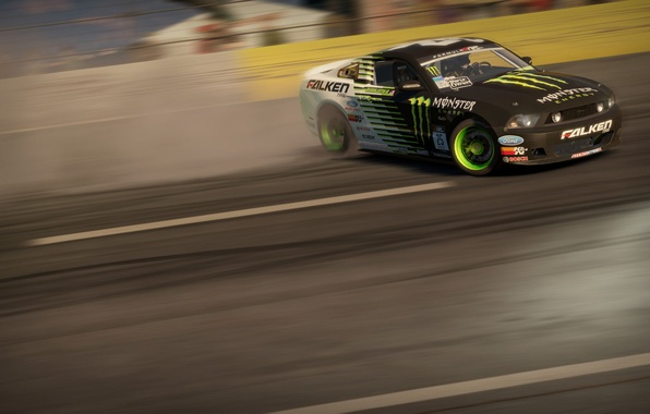 Picture Mustang, nfs, monster energy, shift 2 unleashed