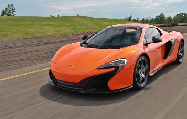 Picture road, McLaren, speed, McLaren 650S