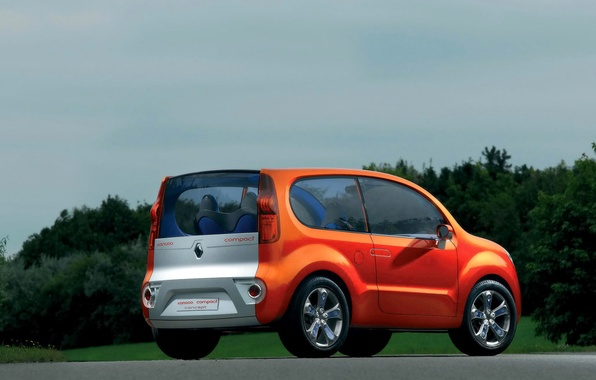 Picture the concept, Renault, Kangoo, CD