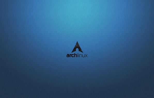 Picture Linux, Arch Linux, Bluewave
