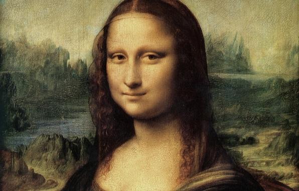 Picture Mona Lisa, mona lisa, L. da Vinci