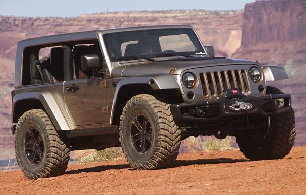 Picture auto, Concept, SUV, Wrangler, Jeep, Flattop