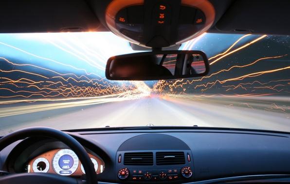Picture line, speed, Auto